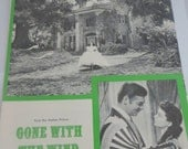 Gone with the Wind Sheet Music My Own True Love Warner Bros.