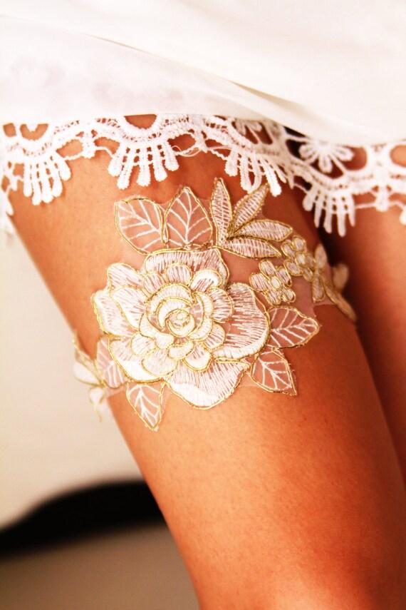 Bridal Garter Wedding Garters Bridal Lace Garter Rustic