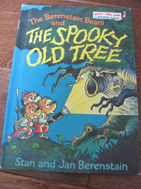 Berenstain Bears Old Book Cover : Vintage berenstain bears and the spooky old tree book