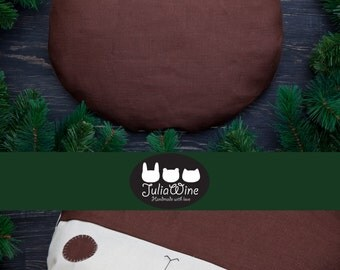 Brown Pillow Bear Decorative Pillow Brown Nursery Decor Brown Beanbag Children's Room Decor Bear Cushion Christmas Gifts for Him Mom Gift
