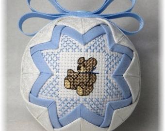 Baby's First Christmas Ornament - Baby - Teddy Bear