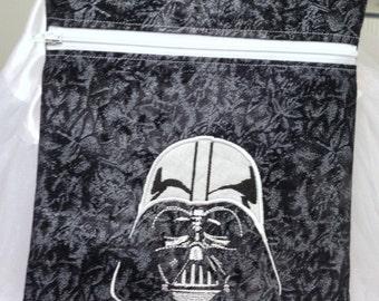 Star War Bag, Darth Vader Over the Body Bag, Passbook Bag, Travel Bag,  Comic-Con, Disney Vacation Bag