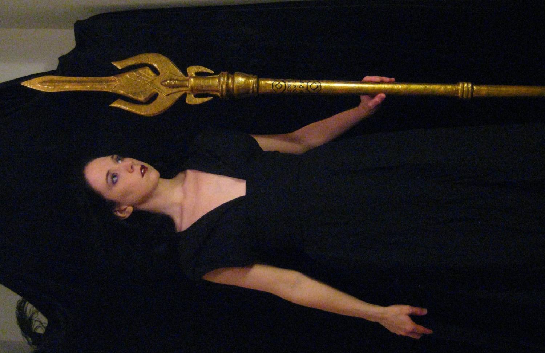 Loki Staff Gungnir Stolen from Odin Made to Order  Loki Staff Gung...