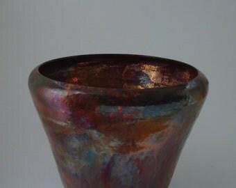 Raku Ceramic Pot