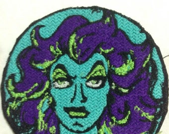 Iron On Patch Inspired Fan Art The Haunted Mansion Madam Leota