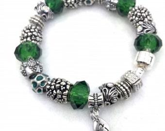 Recycle Charm Bracelet