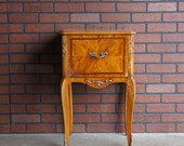 Antique Nightstand / Bedside Table  Vintage Nightstand ~ Paint To Order ~