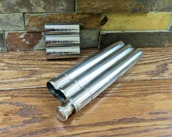 Cigar Holder and Flask- Groomsman gift- Mens Gift- Wedding Gift- Best Man