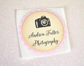Photographer Stickers - Customizable Colors