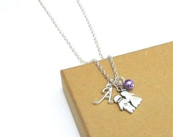 Bridesmaid Gift, Bridesmaid Necklace, Flower Girl Necklace, Personalised Bridesmaid Gift, Flower Girl Gift, Bridal Shower Gift