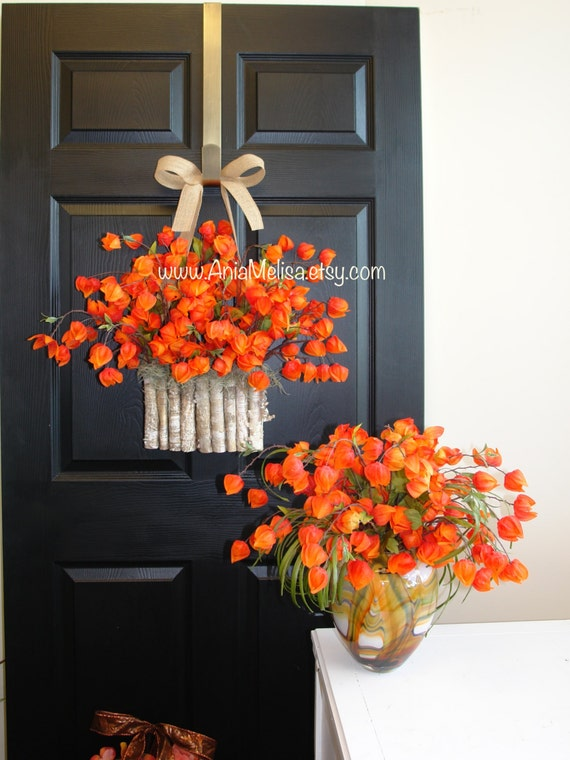 Summer wreath fall wreaths front door wreaths by aniamelisa Fall autumn door wreaths