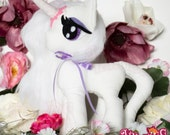 Amalthea Pony Plushy - my little pony - made to order