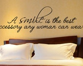 Cute Wall Decal Art Quote Decor