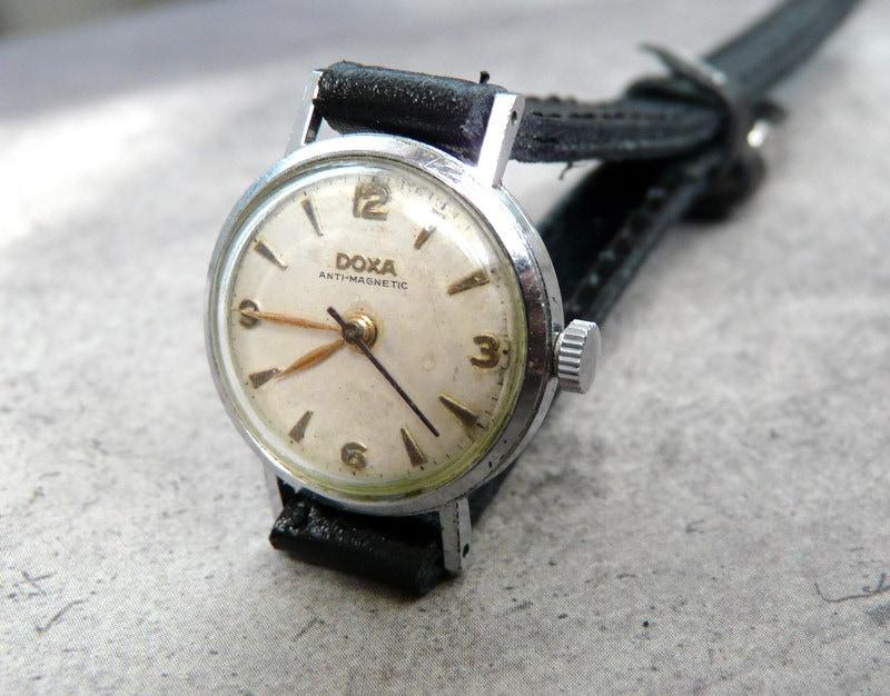 25 swiss s doxa 1950 s vintage by retrowatch