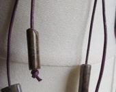 Boho Leather Jasper Gemstone Earrings, Jasper Sterling Silver Earrings, Jasper Dangle Earrings, Gemstone Leather Dangle Earrings