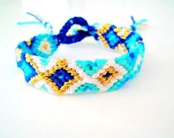 Handwoven Friendship Bracelet . Greek island