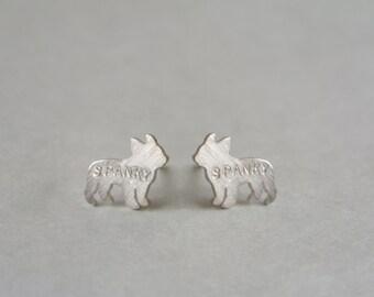 Frenchie Bulldog Earrings