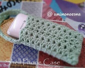 Shell Phonecase Crochet Pattern (English language)