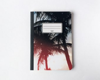 Marparaiso Notebook - Journal - Sketchbook - Blank pages - Lined pages