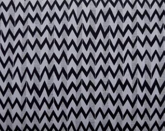 SALE One Yard Ghastlie Angle / Smoke Cotton Fabric - Alexander Henry