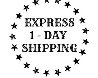 EXPRESS 1-DAY SHIPPING -- Within the United States Only