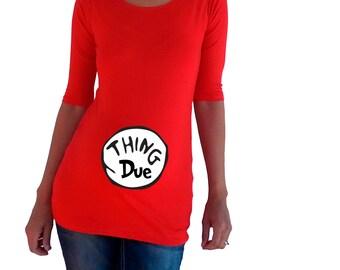 Thing Due Maternity Shirt-PVA061