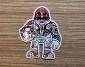 Mario Sticker, 100% Waterproof Vinyl Sticker, Pop Culture Sticker