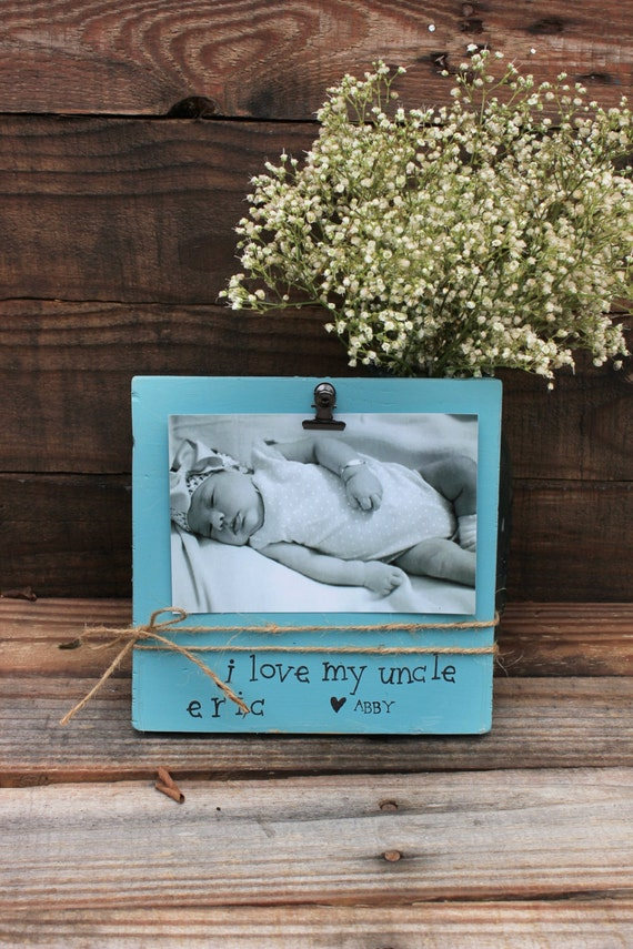 I Love My Uncle Customized Picture Frame Niece By