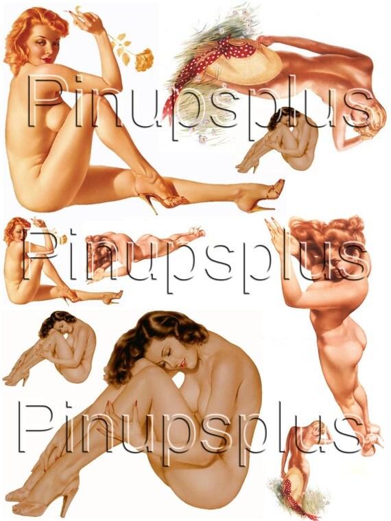 Vintage Nude Pinup 50