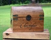 Kids Toy Chest - Wooden Chest - Keepsake Box - Memory Box - Kids Memory Chest - Large Wooden Chest - Baby Keepsake Chest - Treasure Chest