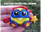 Polymer Clay Star Hero for Joanne Cute Whimsical Collectible Sculpture Figurine