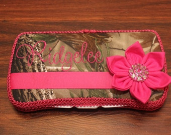 NEW Hot Pink Camo Boutique Wipe Case