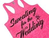 Bridal Workout Shirt. Bride Workout Tank Top. Wedding Workout Clothes. Bride Workout Shirt. Bride Tank Top.