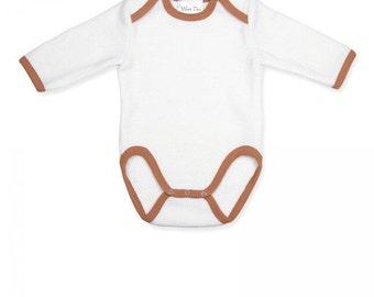 Merino wool bodysuit - Baby bodysuit -  Baby wool bodysuit - Wool bodysuit