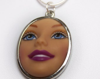 Barbie Doll Face Necklace | Dollfaced