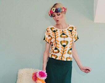 "Kimono dress ""YALLA GREEN"""