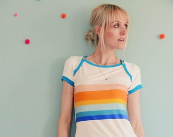"Sporty short sleeve ""RAINBOW BABY"""