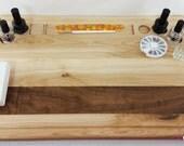 Pro Style Mani Board 1 Stripe - Nail Polish lap and table board