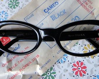 1950s vintage eyeglasses frame new old stock