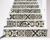 Premium tile wall decals an artistic touch to your by bleucoin - Stickers muraux castorama ...