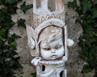 The little king, ceramic sculpture