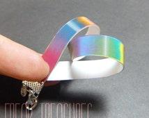 Rainbow Lenticular bracelet
