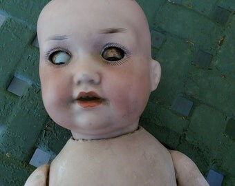 Antique bisque head, Armand Marseille, Antique, bisque head doll, German bisque doll, Antique German doll, Vintage doll, Collectible doll