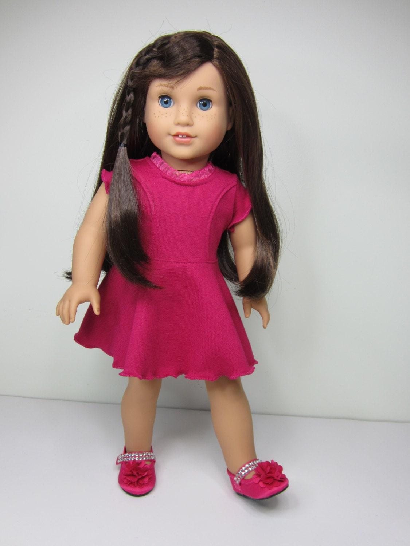 american girl doll clothes super cute raspberry by jazzydollduds