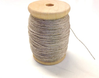 Tudor Style Linen Thread and Beeswax for Renaissance/Elizabethan Reenactment