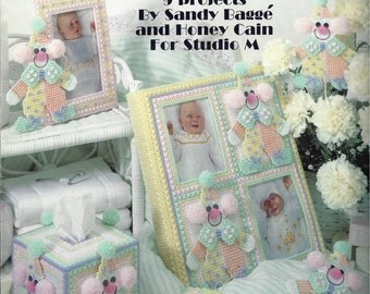 Clowns For Baby In Plastic Canvas Leaflet #1349