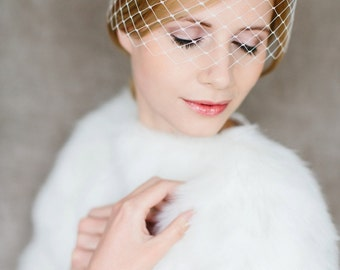 "Wedding handmade Bridal Birdcage with crystal stones - ""Leila"""