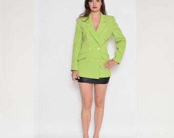Vintage 90's Lime Green Jacket