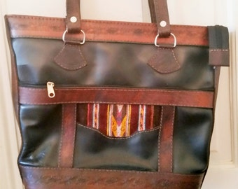 Leather Southwestern Bag