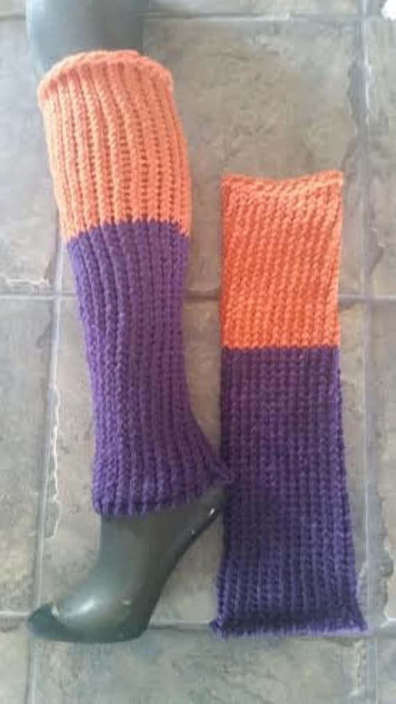 CLEARANCE 99% OFF Retail Price Knitted Leg Warmers Ice